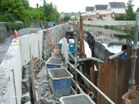 Instream works and destruction of juvenile lamprey habitats within the Lower Ruver Shannon cSAC