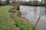 15 of 30: Bank slippage upstream of Ballyclough weir