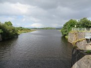 Looking upstream to Lough Allen from the top of the dam