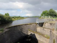 Fish pass at Ballintra gates