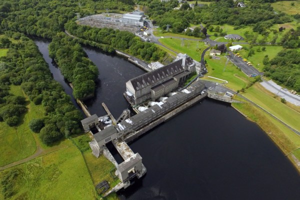 Ardnacrusha hydroelectric station on the Lower River Shannon.